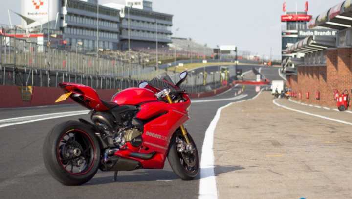 Panigale 1299s at Brands Hatch