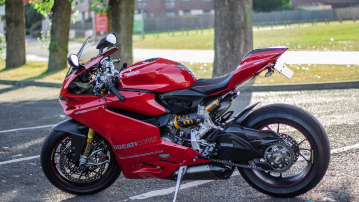 Ducati Panigale 1299s at Brands Hatch