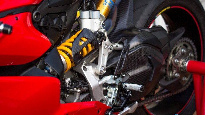 TTX Ohlins on Ducati Panigale 1299s