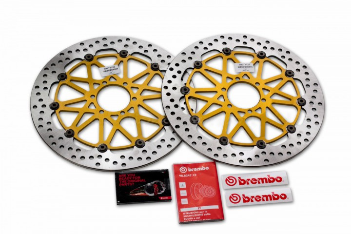 Aprilia RSV4 R, Factory, APRC 320mm Brembo HPK SuperSport Front Brake Discs - 208973725