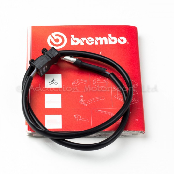 Genuine Brembo 19RCS Front Brake Master Lever Micro Switch Microswitch 110467195