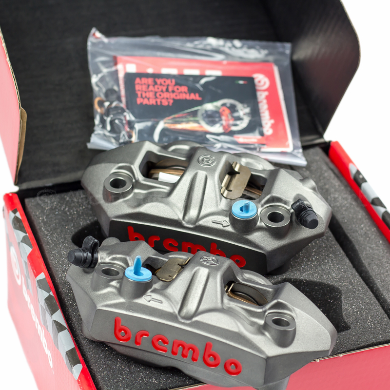 Brembo M4 108mm Forged Radial Monoblock Calipers - Addiction Motorsport Ltd